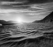 Sand dunes. Nubra valley, Ladakh, India Royalty Free Stock Photos
