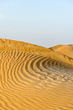 Sand dunes in Oman desert (Oman) Stock Photos