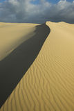 Sand dunes at Port Stephens Stock Image