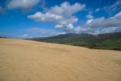 Sand dunes at Punta de la Paloma, Andalucia, Spain Royalty Free Stock Photo