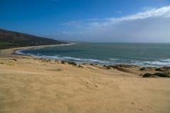 Sand dunes at Punta de la Paloma, Andalucia, Spain Stock Images