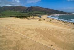 Sand dunes at Punta de la Paloma, Andalucia, Spain Stock Photo