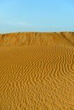 Sand dunes in Rub al-Khali desert (Oman) Stock Image
