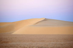Sand dunes in Sahara desert Stock Photo