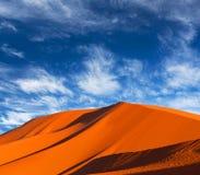 Sand dunes in Sahara desert in Africa Stock Photography