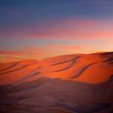 Sand dunes in Sahara desert in Africa Royalty Free Stock Photo