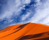 Sand dunes in Sahara desert in Africa Stock Image