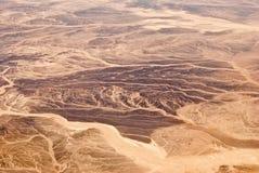 Sand dunes in the Sahara Desert in Egypt Stock Images