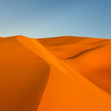 Sand Dunes in the Sahara Desert, Libya Royalty Free Stock Image