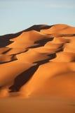 Sand dunes in Sahara desert, Libya. Sand  dunes in Sahara desert, Libya Royalty Free Stock Photo