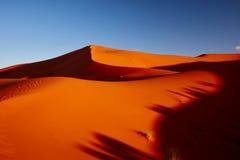 Sand dunes in the Sahara Desert Stock Photos