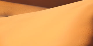 Sand dunes in the Sahara Desert, Morocco Royalty Free Stock Photos