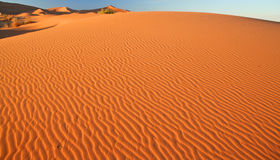 Sand dunes in the Sahara Desert, Morocco Royalty Free Stock Image