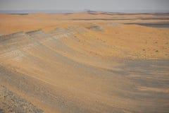 Sand dunes in the Sahara Desert, Morocco Stock Photos