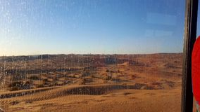 The sand dunes of the Sahara stock photos
