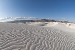 Sand dunes in Socotra island Royalty Free Stock Image