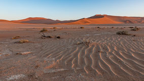 Sand dunes at Sossusvlei, Namibia Stock Photo