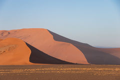 Sand dunes of Sossusvlei National Park, Namibia Royalty Free Stock Photos