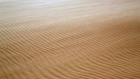 Sand dunes with stripes in Mauritania Stock Images