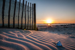 Sand dunes. Sunset in West Wittering beach Royalty Free Stock Photo