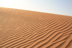 Sand dunes texture Stock Image