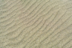 Sand dunes texture. Abstract background Stock Photography