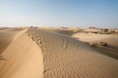 Sand Dunes Thar Desert Stock Images