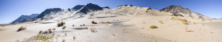 Sand dunes of Tibet Royalty Free Stock Image