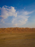 Sand dunes in UAE Stock Photos