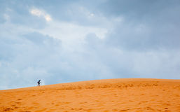 Sand dunes in Vietnam Stock Photography