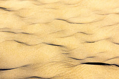 Sand on the dunes Royalty Free Stock Images