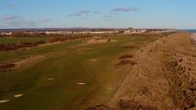 Sand dunes at west beach Littlehampton Links Golf