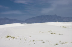 Sand dunes of White Sands Stock Photo