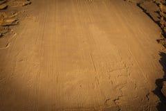 sand dysfunktionellt blöta sandbakgrund Utrymme för text arkivbilder