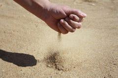 Sand-exponeringsglas Royaltyfri Fotografi