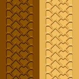Sand för gyttja för spårterrängdäck Royaltyfria Foton