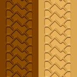 Sand för gyttja för spårterrängdäck Royaltyfri Bild