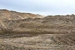 sand för högt område för dyn dynamisk Fotografering för Bildbyråer