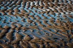 sand för krusningar för closeupdynmodell röd Fotografering för Bildbyråer