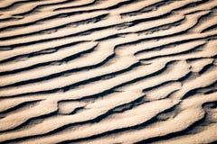 sand för krusningar för closeupdynmodell röd Royaltyfri Fotografi