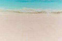 Sand för strandplatsvisning Royaltyfri Foto