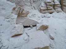 Sand-Felsen lizenzfreie stockbilder