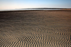 Sand flats Royalty Free Stock Photos