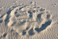 Sand Formation Royalty Free Stock Photos