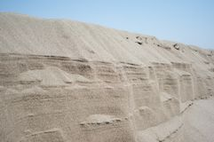 Sand formation. And layers Stock Images