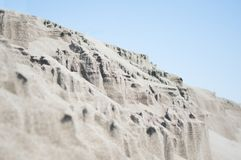 Sandy formation Royalty Free Stock Images