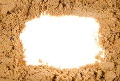 Sand frame Stock Images
