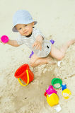 Sand fun Royalty Free Stock Photography