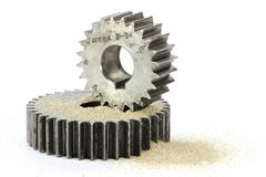 Sand in the gears Royalty Free Stock Photos