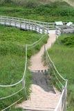 Sand-Gehweg Lizenzfreies Stockfoto